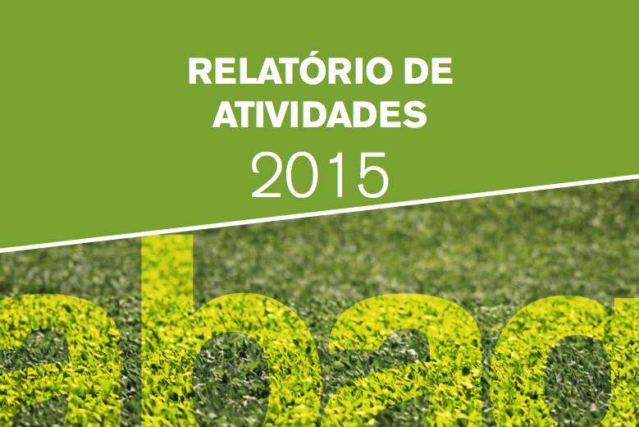 Relatório de atividades 2015