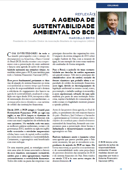 Agenda da Sustentabilidade Ambiental