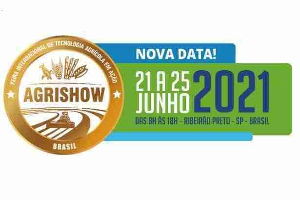 AGRISHOW – de 21 a 25 de junho de 2021