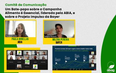 Comitê de Comunicação da ABAG apresenta iniciativas para disseminar informações relevantes ao setor